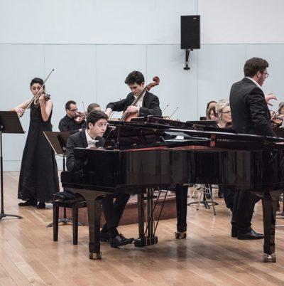 Trois jeunes solistes dans le Triple concerto de Beethoven