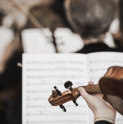 Détails de violons