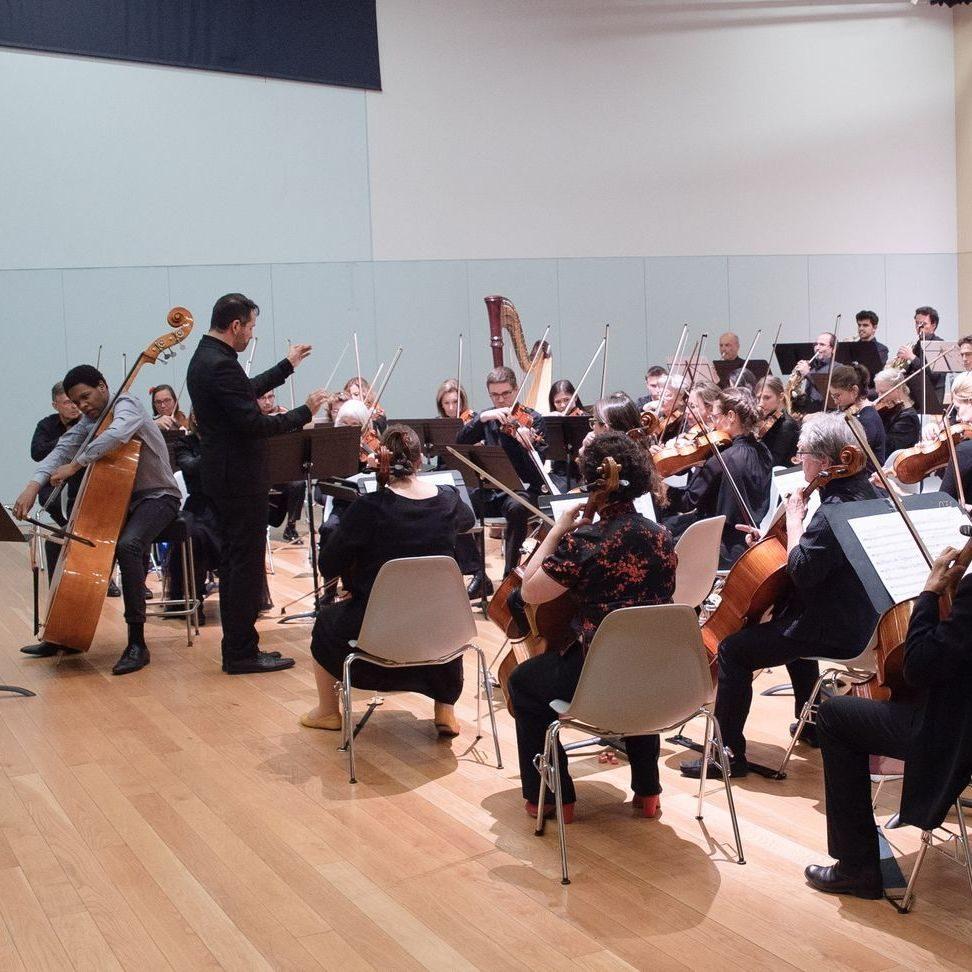 """""""Weslei Felix Ajarda et l'orchestre, février 2020, Point favre """""""
