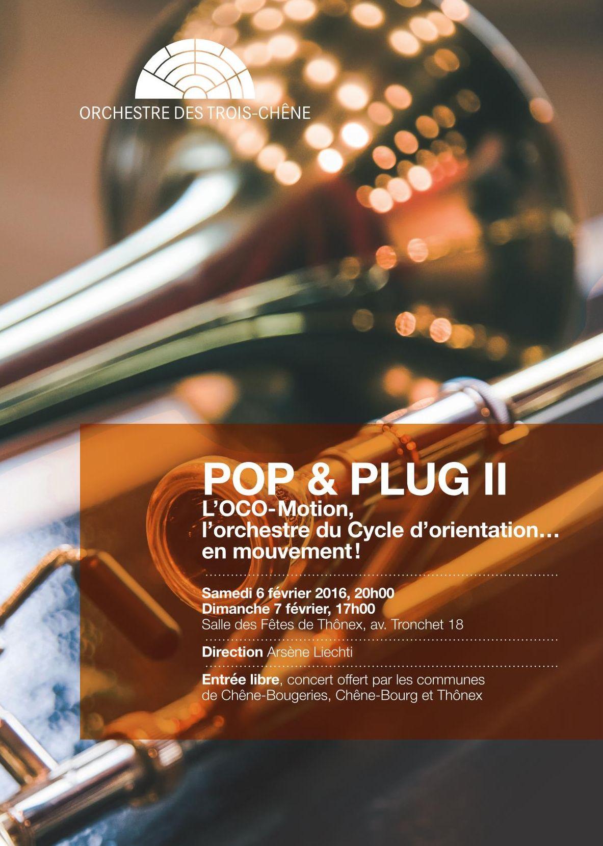 Flyer Pop & Plug II