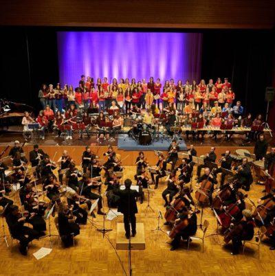 Concert Pop & plug II, Salle des Fêtes de Thônex, février 2016