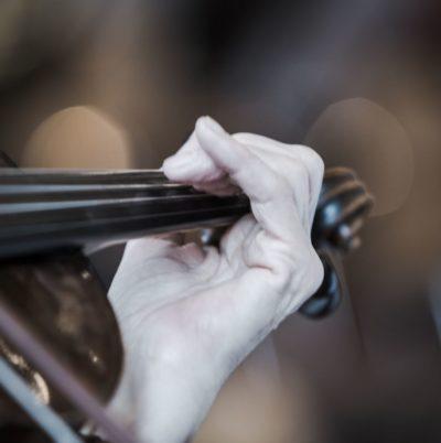 Détail d'un violon