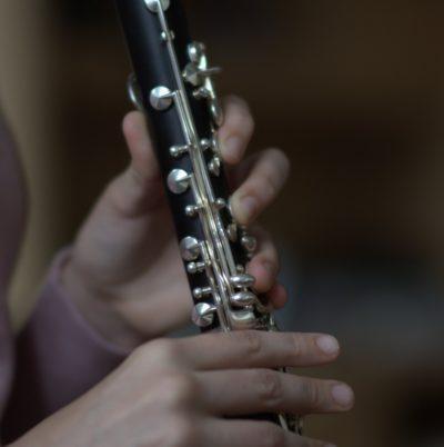 Détail d'une clarinette