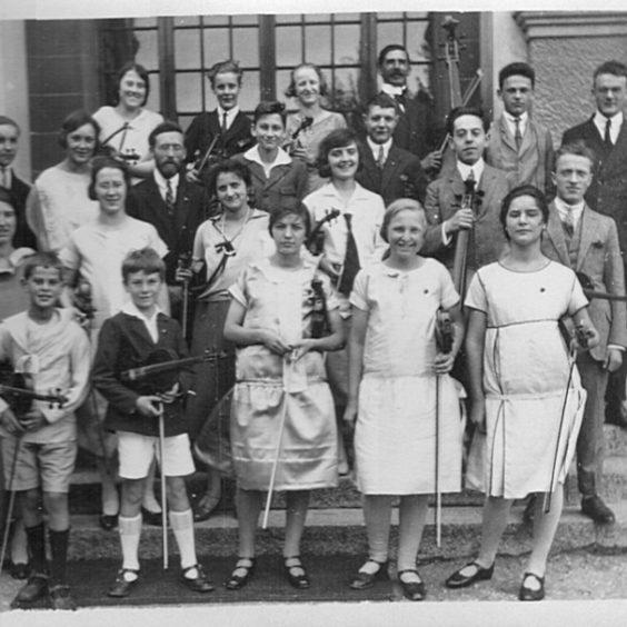 L'orchestre Saint-Jean en 1920