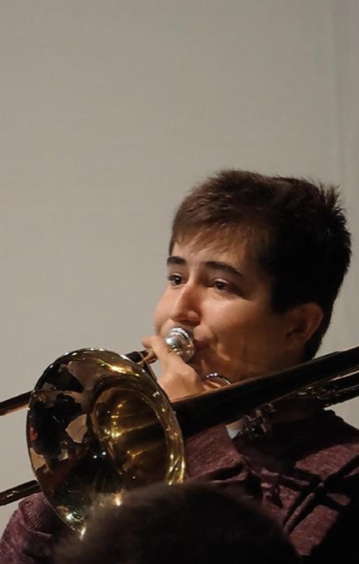 Vincent Ernst, trombone