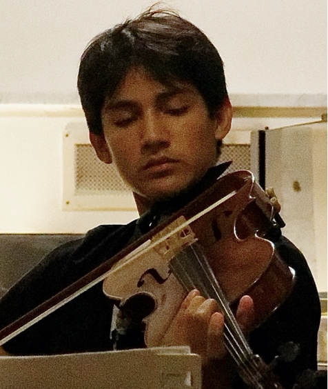 Arthur Gauthier, violon