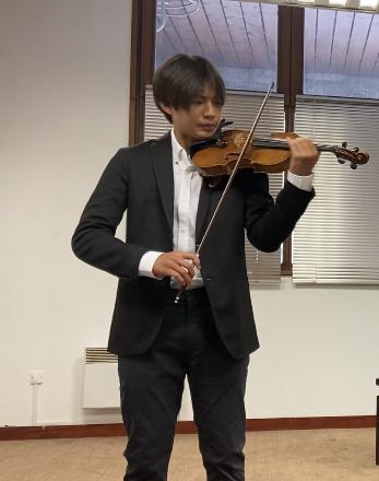 Sean Jang, violon