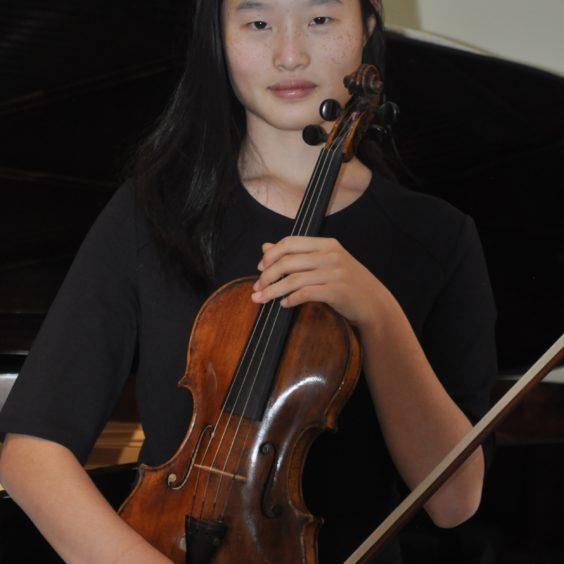 Judy Wang, violon