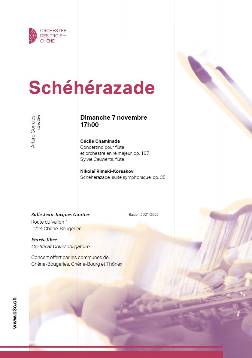 Flyer Schéhérazade